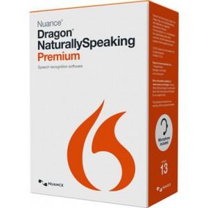 Nuance Dragon Naturally Speaking Premium 13.0 International English - K609X-W00-13.0