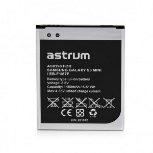 AS8190 FOR SAM GALAXY S3 MINI / EB-F1M7F