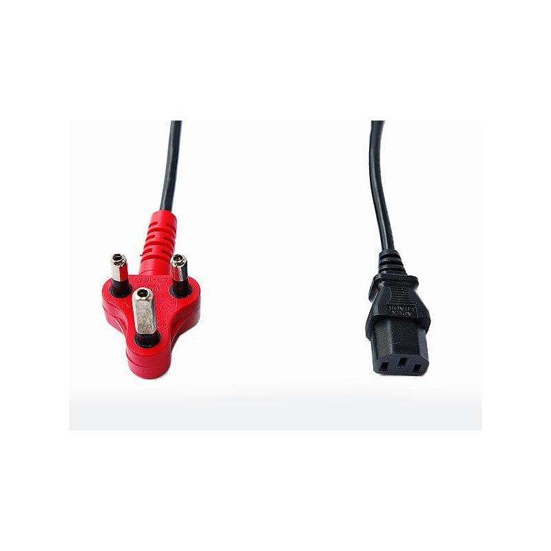 2m Power Cord With Dedicated Plug Top