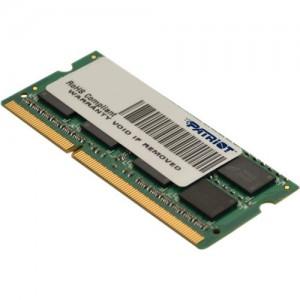 Patriot SL 2G-TechB 1333MHz DDR3 DS SO DIMM Memory