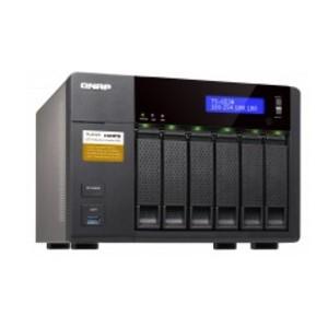 QNAP 6-BAY NAS, QUAD-CORE 1.6GHZ CPU, 4G