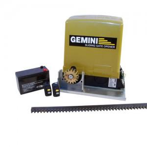 Gemini DC Slider + Battery, 2 x Ch Tx's & 4m Rack