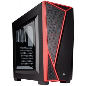 CORSAIR CARBIDE SPEC 04 CASE BLACK / RED RED LED