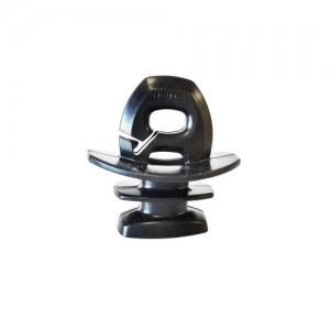 Insulator - Jurassic - Black 6.2mm Slot