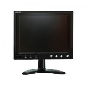 "Monitor - 8"" TFT LCD with VGA and 2 RCA Audio Inputs"