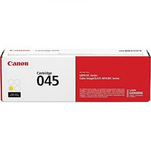 CANON 045 YELLOW TONER - APPROX 1300 PAGES