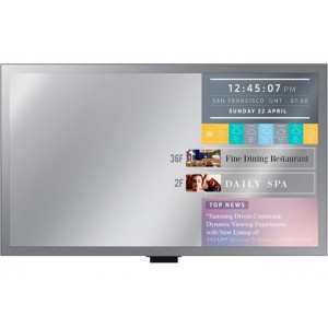 Samsung 55'' LED Mirror Display 24hr SSSPv3 DP/DVI/HDMI/USB/RJ45/RS232 450nits Speakers Wifi