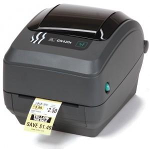 Zebra GK420T Thermal Printer with LAN