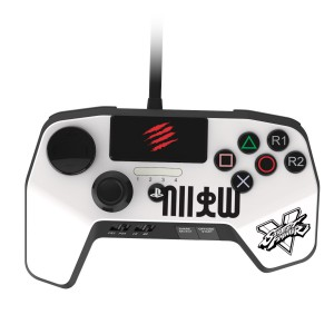 SPARKFOX MADCATZ CNTRLLR WHT - PS3/PS4