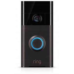 RING Wi-Fi Enabled Video Doorbell - Venetian Bronze