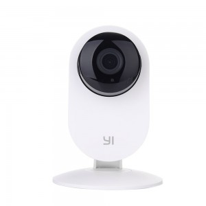 YI Home Camera Wireless IP Security Surveillance System-White (US Edition)