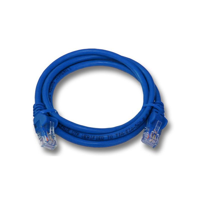 1M UTP Cat6 Flylead Blue