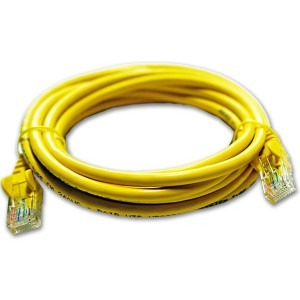 3M UTP Cat6 Flylead Yellow