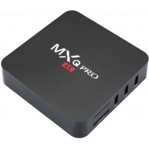MXQ Pro 4K Smart TV Box - Android Media Player Streamer (Showmax / Netflix / Kodi and More) - 4 X USB, Remote Control