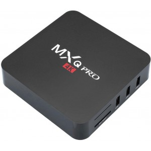MXQ Pro 4K Smart TV Box - Android Media Player Streamer (Showmax / Netflix / Kodi and More) - 4 X USB, Remote Control