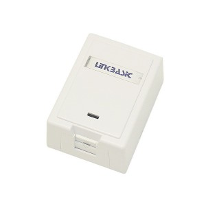 Cat5e Single Surface Mount Wall Box