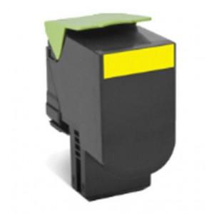 70C8XYE Lexmark 70C8XYE Extra High Yield Yellow Toner Cartridge