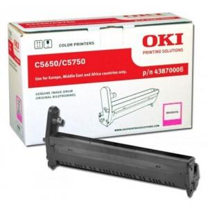 OKI 43870006 Magenta Image Drum Laser Printer