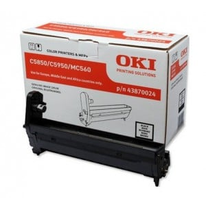 OKI 43870024  Black Laser Printer Imaging Unit