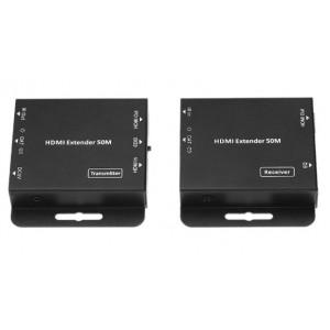 HDCVT HDMI Extender 50m slim with IR POE