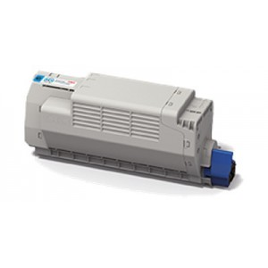 OKI 45396203 High Capacity Cyan Toner Cartridge
