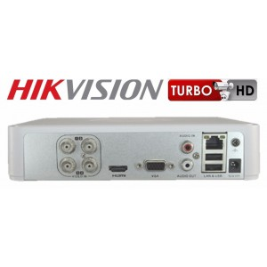 Hikvision Turbo HD 4 Channel DVR (Digital Video Recorder) Model DS-7104HGHI-F1