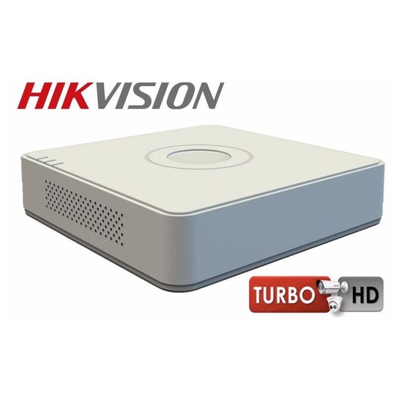 Hikvision 8-Ch TURBO HD 720P / 1080P Embedded DVR, H 264, Analogue and  HD-TVI video input - GeeWiz