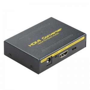 HDMI to HDMI and Optical TOSLINK SPDIF + Analog RCA