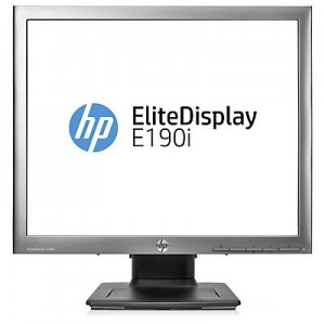 HP EliteDisplay E190i 18.9 LED Backlit IPS Monitor - Aspect ratio 5:4 Res 1280x1024 Ports 1X VGA 1x Dvi-D 1xDisplayPort 8ms response 3.3.0