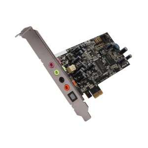 ASUS XONAR DGX 5.1 Channels 24-bit 96KHz PCI Express x1 Interface Gaming Audio Card