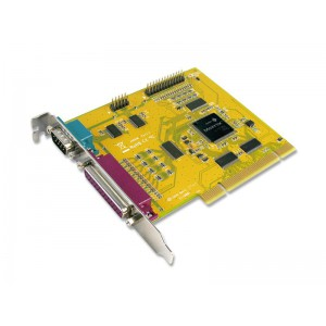 SUNIX 2-Port RS-232 + 2-Port Parallel PCI Card (MIO4089AM)