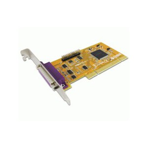 Sunix 2 Port IEEE 1284 Parallel PCI Board Model Par 5018 a L