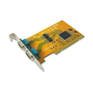 SUNIX 2-port RS-232 Universal PCI Serial Remap Board Model SER5037D