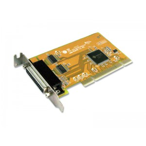 Sunix mio5079AL 2-port RS-232 & 1-port Parallel Universal PCI Low Profile Multi-I/O Board
