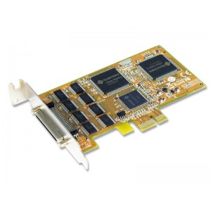 Sunix ser5466HL8-port RS-232 High Speed PCI Express Low Profile Serial Board