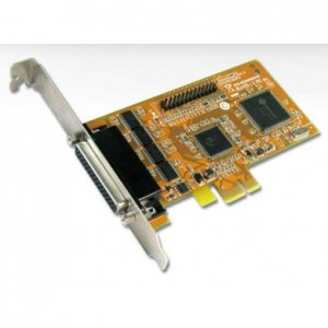 Sunix mio5499H 4-port High Speed RS-232 & 1-port Parallel PCI Express Multi-I/O Board