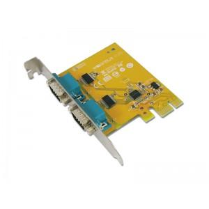Sunix 6437A 2-port RS-232 PCI Express Board