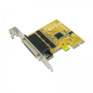 Sunix ser6456A 4-port RS-232 Low Profile PCI Express Board