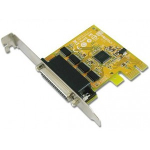 Sunix ser6456H 4-port RS-232 High Speed Low Profile PCI Express Board