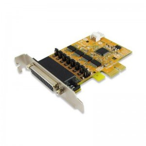 Sunix ser6456PH 4-port RS-232 High Speed PCI Express Low Profile Board with Power Output