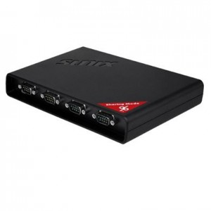 Sunix DevicePort Sharing Mode Ethernet enabled 4-port RS-232 Port Replicator
