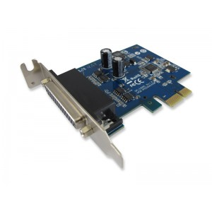 SunixIndustrial 2-port RS-422/485 Low Profile PCI-Express Serial Card with Surge
