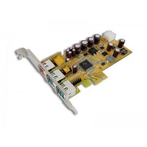 Sunix 1-port 24V & 2-port 12V Powered USB PCI Express Low Profile Add-On Card