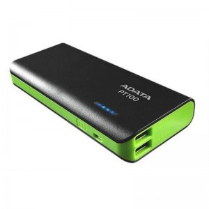 ADATA PT100 10000mAh Dual Output Fash Charging 3.1A Portable Charger Power Bank for Smartphones and tablets