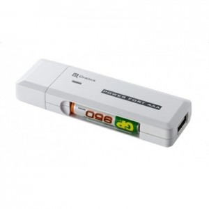CHOIIX Power Fort charging slot AAA Stick 3004 for charging over 2 x AAA batteries