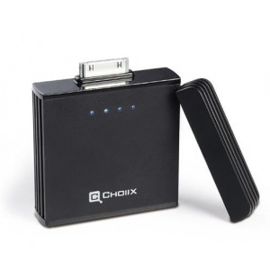 Choiix C-A006-K1 i-PowerFort Rechargeable Battery For iPhone or iPadBlack