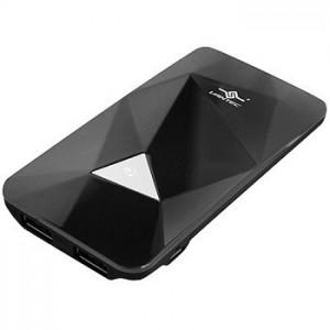 Vantec Power Gem Black 3500 mAh Rechargeable Portable Battery VAN-350BB-BK