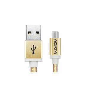 Adata cable 1meter Aluminum Gold