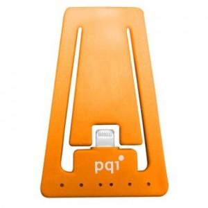 PQI i-Cable Stand, Apple MFi-Certified, Orange