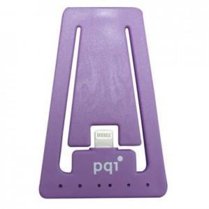 PQI i-Cable Stand, Apple MFi-Certified, Purple